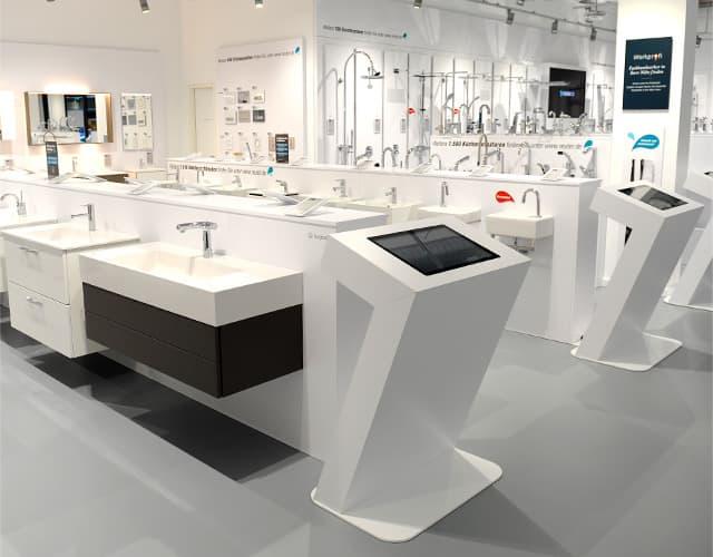 Reuter Badausstellung in Düsseldorf