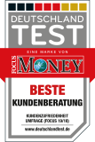 Focus Money - beste Kundenberatung