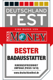 Focus Money - bester Badausstatter