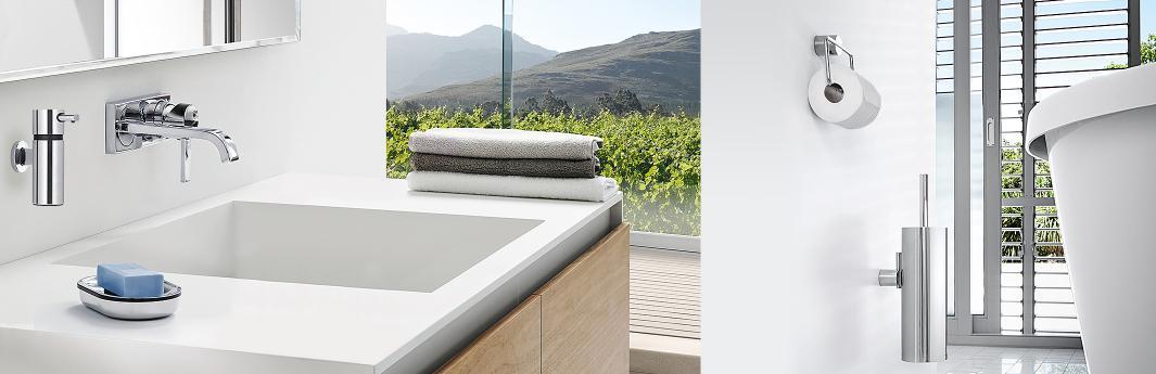 ohne bohren badaccessoires zum kleben reuter magazin. Black Bedroom Furniture Sets. Home Design Ideas