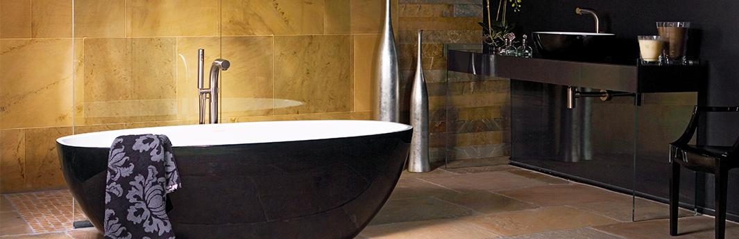 Badideen - Tolle Ideen Für Das Badezimmer Bei Reuter Badezimmer Schwarz Wei Gold