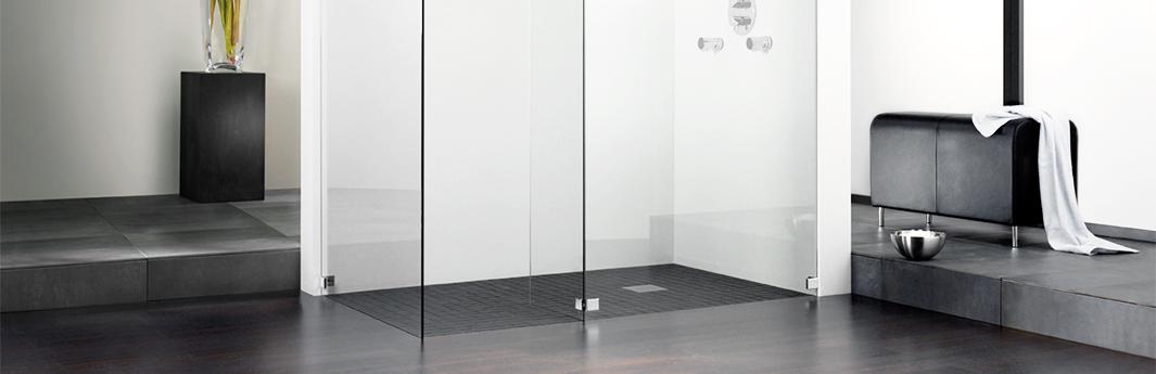 gemauerte dusche ohne t r. Black Bedroom Furniture Sets. Home Design Ideas