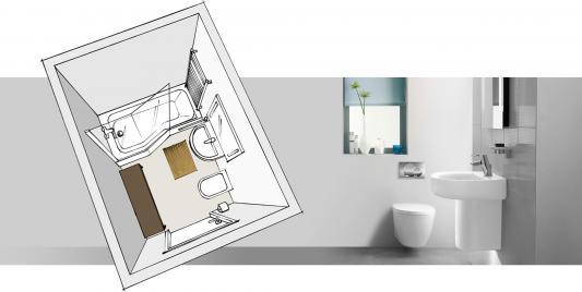 Badezimmer 4 Qm Ideen Kleines Bad Mit Dusche Gestalten Badezimmer 4