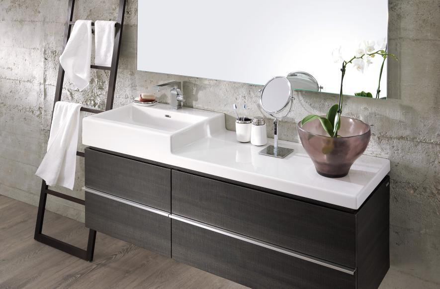 klare kanten rechteckige waschtische reuter magazin. Black Bedroom Furniture Sets. Home Design Ideas