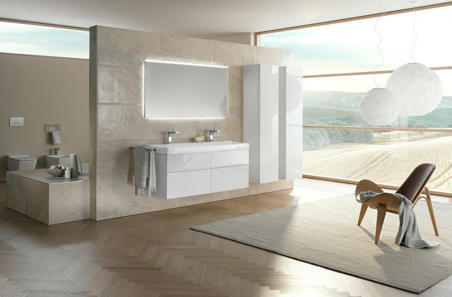 Badezimmer modern beige  Modernes Badezimmer Beige | gispatcher.com