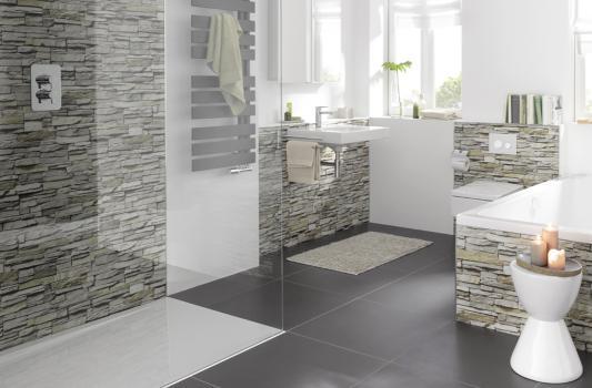 Duschrückwände - Dusche fugenlos renovieren | REUTER
