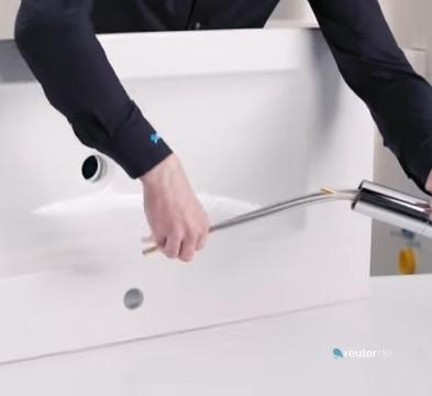 Fabulous Anleitung: Waschbecken & Unterschrank montieren (+ Video HA74