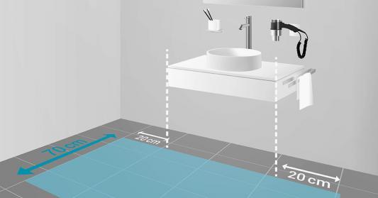 waschbecken hoehe bad waschbecken h he nero badshop hohe bad waschtisch armatur ma e von. Black Bedroom Furniture Sets. Home Design Ideas