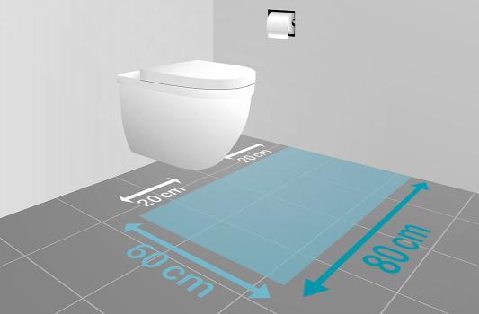 Neues WC » Maße, Höhe & Abstände | REUTER
