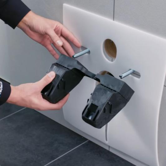 Berühmt Anleitung: Wand-WC richtig montieren (+ Video)   REUTER VO66