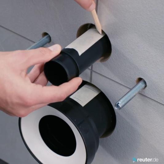 Sehr Anleitung: Wand-WC richtig montieren (+ Video) | REUTER IY55