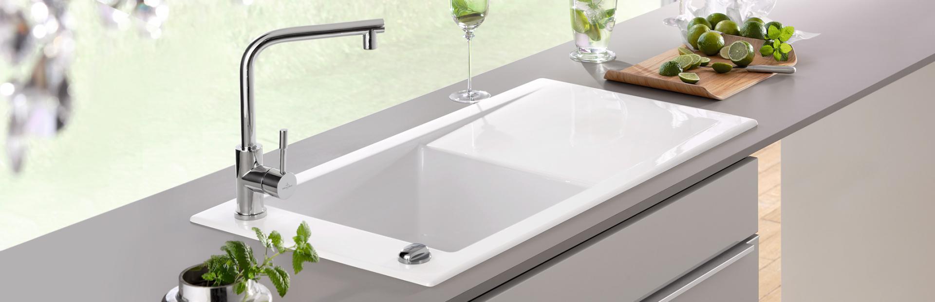Oberflächen für starke Küchenspülen | REUTER Magazin | {Spülbecken keramik villeroy & boch 22}