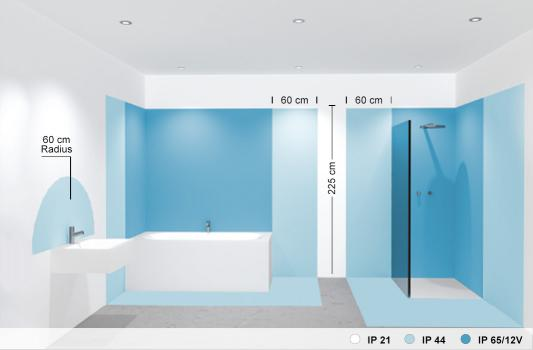 Moderne Lampen 65 : Schutzarten: sicheres licht im bad reuter magazin