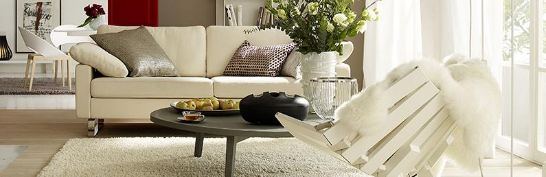 sch ner wohnen heimtextilien teppiche und fu matten mit stil. Black Bedroom Furniture Sets. Home Design Ideas
