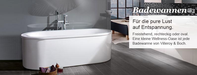 villeroy boch badewannen reuter onlineshop. Black Bedroom Furniture Sets. Home Design Ideas