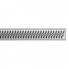 ACO ShowerDrain E/M Designabdeckung Flag für Duschrinne: 100 cm