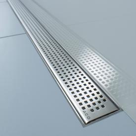 ACO ShowerDrain E/M Designabdeckung Quadrato für Duschrinne: 70 cm