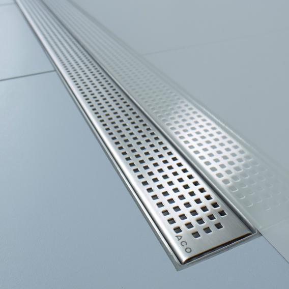 ACO ShowerDrain E+/M+ Designabdeckung Quadrato für Duschrinne: 90 cm