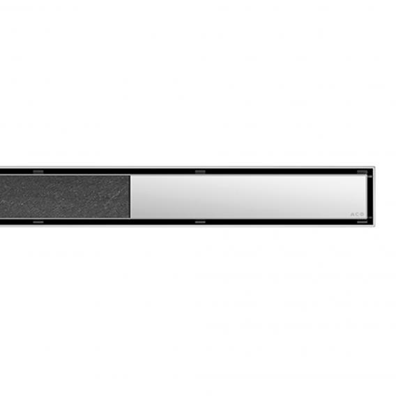 ACO ShowerDrain E/M Designabdeckung Twist für Duschrinne: 80 cm