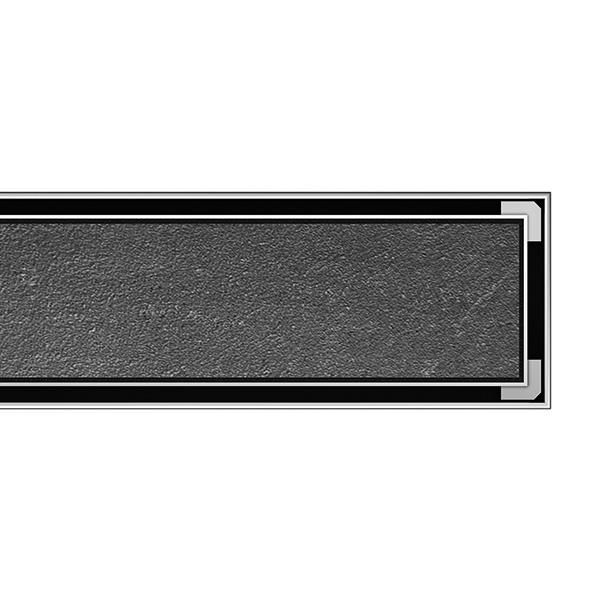ACO ShowerDrain C Designabdeckung befliesbar Tile für Duschrinne: 90 cm