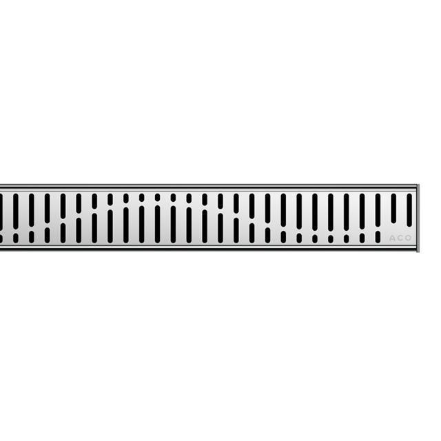 ACO ShowerDrain C Designabdeckung Wave für Duschrinne: 120 cm