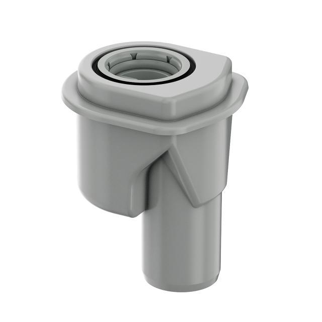 ACO ShowerDrain M+ Ablaufkörper, Stutzenausführung 90°, DN50, Sperrwasserhöhe 5 cm