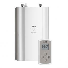 AEG DDLE Kompakt Durchlauferhitzer mit Fernbedienung, elektronisch geregelt, 20 bis 60°C 11/13,5 kW mit Fernbedienung