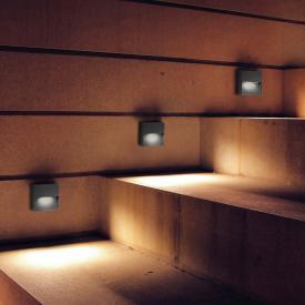 AI LATI Bottom LED Wandleuchte, quadratisch