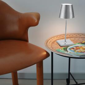 AI LATI Poldina Pro Mini Akku LED Tischleuchte mit Dimmer
