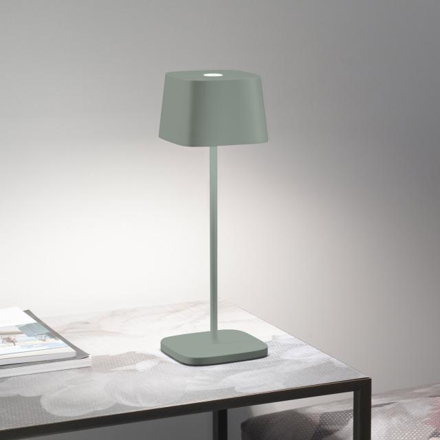 AI LATI Ofelia Pro Akku LED Tischleuchte mit Dimmer