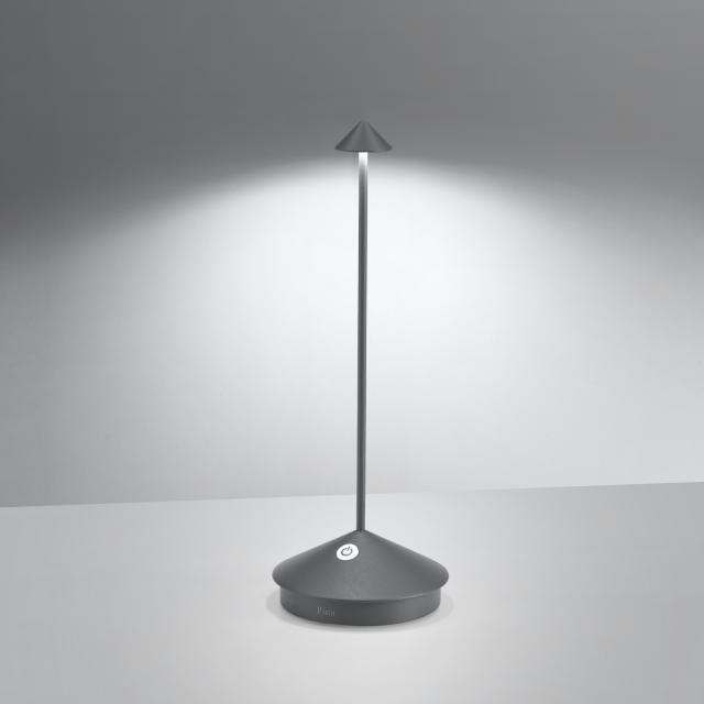 AI LATI Pina Pro Akku LED Tischleuchte mit Dimmer