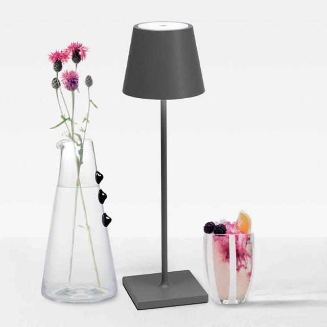 AI LATI Poldina Pro USB LED Tischleuchte mit Dimmer