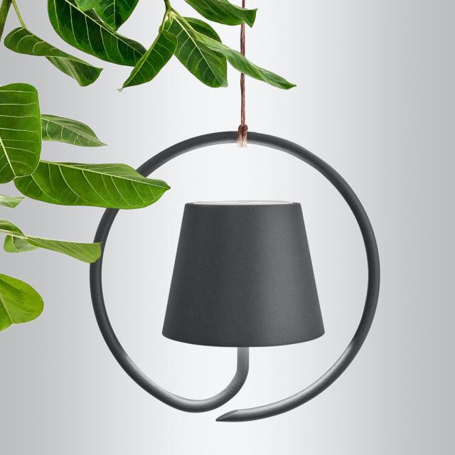 AI LATI Poldina USB LED Pendelleuchte mit Dimmer
