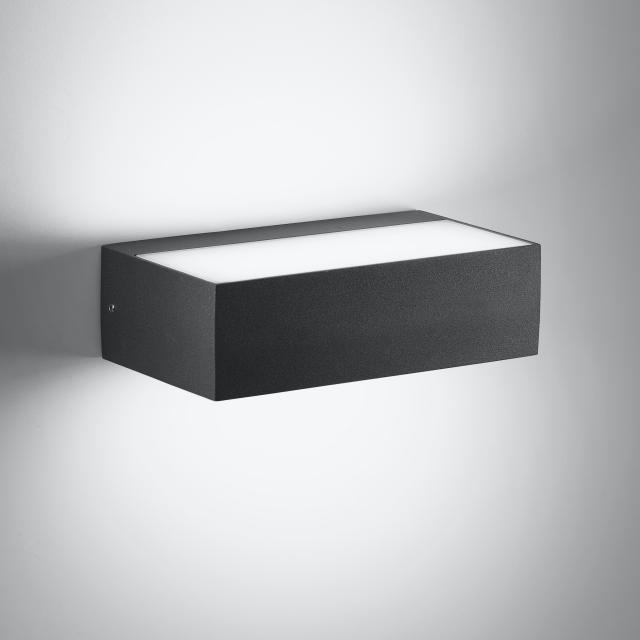 AI LATI Sottosopra LED Wandleuchte, rechteckig