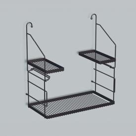 Alape AG. Utensilo Stahlregal für Ausgussbecken