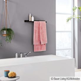 Alape Assist Ablage mit Ausschnitt als Handtuchhalter rechts