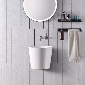 Alape Scopio WT.CO400/H Waschtisch weiß, ohne Hahnloch