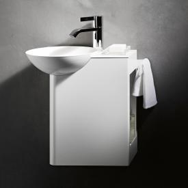 Alape WP.Insert Waschplatz Becken links, Ablage weiß