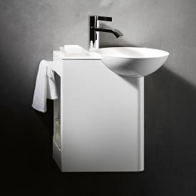 Alape WP.Insert1 Waschplatz Becken rechts, Ablage weiß