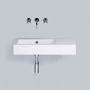 alape wt pr waschtisch wei ohne hahnloch mit berlauf 4205300000 reuter. Black Bedroom Furniture Sets. Home Design Ideas