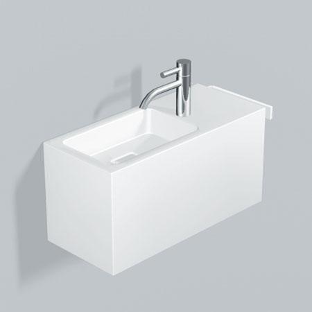 alape xplore s wp waschplatz wei becken links mit 1 hahnloch 5072800000 reuter. Black Bedroom Furniture Sets. Home Design Ideas