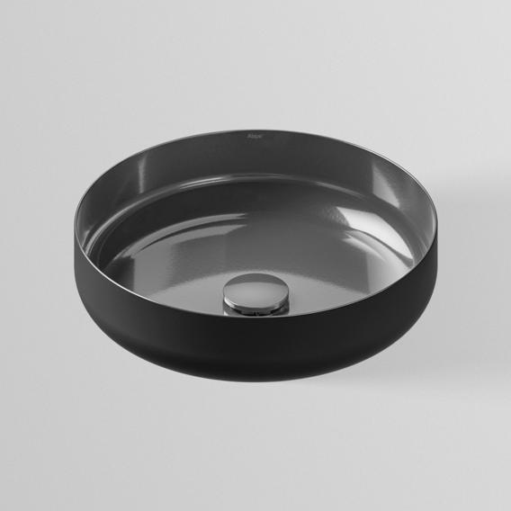 Alape Sondo AB.SO400.1 Aufsatzbecken metallic dark iron