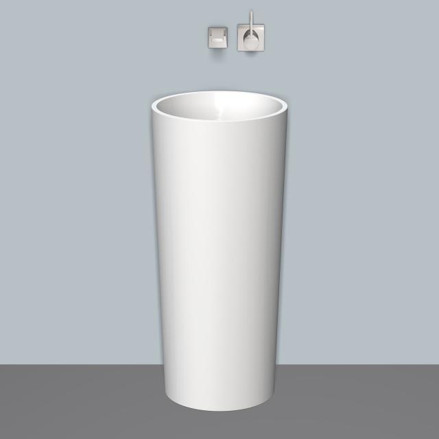 Alape Scopio WT.RX400.CO Säulenwaschtisch weiß