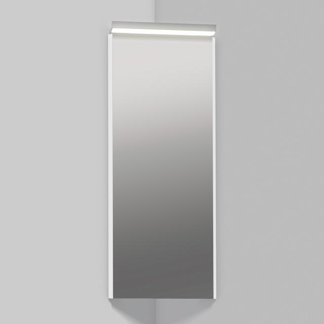 Alape SP Eckspiegel mit LED-Beleuchtung