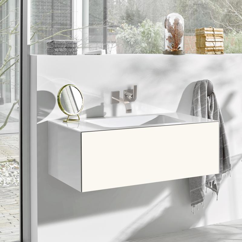 alape wp folio waschtisch mit waschtischunterschrank mit 1 auszug wei wei seidenmatt ohne. Black Bedroom Furniture Sets. Home Design Ideas