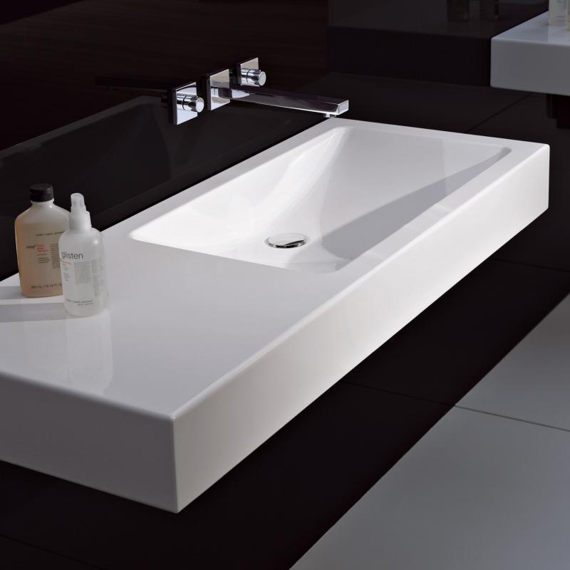 alape wt gr waschtisch wei ohne hahnloch ohne berlauf 4269000000 reuter. Black Bedroom Furniture Sets. Home Design Ideas