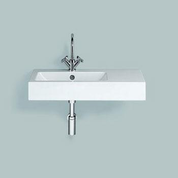 alape wt pr waschtisch wei mit 1 hahnloch mit berlauf 4205000000 reuter. Black Bedroom Furniture Sets. Home Design Ideas
