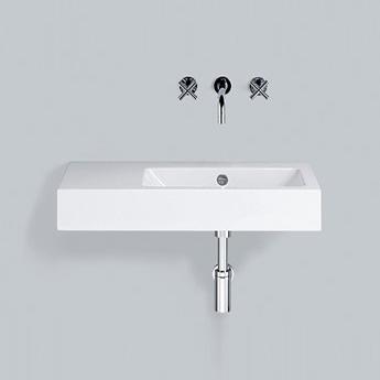 alape wt pr waschtisch wei ohne hahnloch mit berlauf 4207300000 reuter. Black Bedroom Furniture Sets. Home Design Ideas