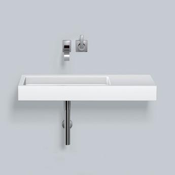 alape wt re waschtisch wei mit pflegeleichter beschichtung ohne hahnloch 4102300400 reuter. Black Bedroom Furniture Sets. Home Design Ideas