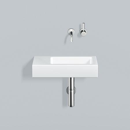 alape xplore s wt xs waschtisch wei mit pflegeleichter beschichtung ohne hahnloch. Black Bedroom Furniture Sets. Home Design Ideas